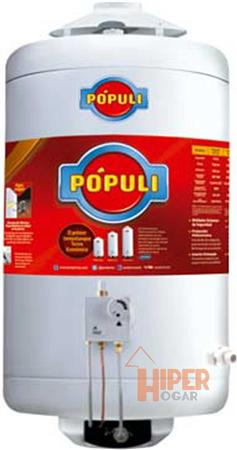 Termotanque Gas Natural Populi 45L Superior